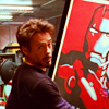 thingswithwings: Tony Stark, pleased, holding up a picture of Iron Man, because he loves himself (avengers - tony/tony is tony's otp)