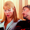 thingswithwings: Tony gazes adoringly at Pepper while she arranges things (avengers - tony and pepper being themsel)