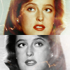 omg_wtf_yeah: Scully looks up, smiling. (XF - Scully)
