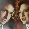 omg_wtf_yeah: Scully and Mulder smile at each other. (XF - Mulder & Scully)