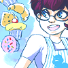 cyan_maid: Jane determined to bake (Baking is the best!)