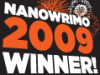 geminianeyes: Winner's Icon for Nanowrimo 09 (Nanowrimo Winner's Icon)