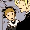 telepathetically: looking at Haruki. confused/kinda worried (BIG WORDS)