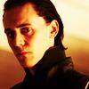 snakeling: Loki looking dubious, from the movie Thor (marvel: dubious loki)