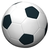 damigella: a soccer ball. Or, the semiregular solid with the largest automorphism group ;) (pallone)