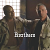 thothmes: Jack & Teal'c, hands on shoulders - Brothers! (Jack & Teal'c - Brothers!)