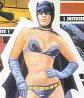 lamashtar: Female Batman in bikini (Bat-torso)