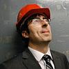 yomogiu: John Oliver in a hard hat (John Oliver)