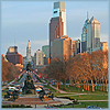 klgaffney: a photo of philadelphia from the art musuem steps (city of brotherly love.)