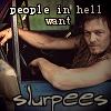 """kelex: Daryl from Walking Dead, """"people in hell want slurpees"""" (people in hell want slurpees (daryl))"""