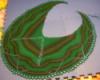 aunty_marion: Damson Mk.1 in green Zauberball (Damson shawl)