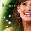 vibrantharmony: Jennifer Garner smiling, text Harmony (Default)