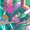lovesthepain: (Linefacing with glowy helmet)