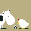 dorkpie: ([random] chicken/cow: one night stand)