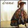 pensnest: dancer in dress of butterfly wings (Drama)