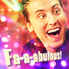 pensnest: Lance in gay shopping mode (Lance Fabulous)