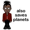pensnest: Martha drawing: also saves planets (Martha saves planets)