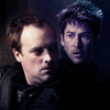 pensnest: Rodney and John headshots in the darkness (Stargate McShep)