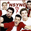 pensnest: the NSYNC boys in red and white (NSYNC group)