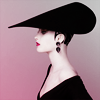 pensnest: Fashion shot of woman in fabulous hat (Hat hauteur)