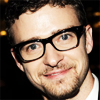pensnest: Timberlake close up with dorky glasses (Justin dork)