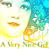 pensnest: clip of Mucha picture, caption A Very Nice Gel (Very Nice Gel)