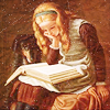 auburn: Girl With Book Painting (Girl With Book)