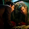 isagel: Bruce Banner, his face reflected in a mirror. (avengers bruce mirror)
