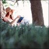 ext_3762: girl reading outside in sunshine (Default)