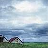 auburn: Cloudy Sky and Old Barn (Sky and Barn)