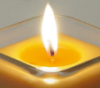 stardreamer: Lit candle (remembrance)