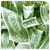 sofiaviolet: heap of loose dollar bills (money)