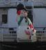 "onyxlynx: Saluting snowman on back of ""Bay Celebrations"" (Winter Holiday Icon)"