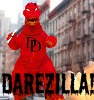 lamashtar: Daredevil as Godzilla (Darezilla!)