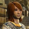 virtualvoyages: Young woman with brown hair, almond eyes, and a slightly rounded face (Novani)