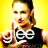 sangerin: Quinn Fabray/Diana Agron from the Glee promotional poster (glee)