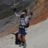 isis: me in an awesome trail race!  (running)