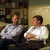 lilyleia78: House and Wilson sitting on couch together (House: domestic bliss)
