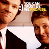 yourlibrarian: Sam and Dean are trustworthy (SPN-YouCanTrustUs-cakeholes)