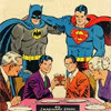 uadlika: (dinner with batman, superman  and the kents)