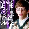 lifeingeneral: god grant me serenity to accept the fucktards I cannot change (Glee:ArtiGodGrantMe)