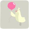 marcicat: (bird with balloon)