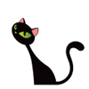 marcicat: (black cat)