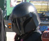 sporky_rat: My Mandalorian Helmet  (mando)