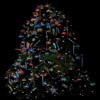 red_trillium: A Christmas tree that has a dark background so the lights stand out (Christmas tree by me)