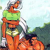 moonlettuce: (Comic: Ororo & Logan)