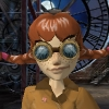elfie_chan: Cute red-headed girl with pigtails and goggles (steampunk)
