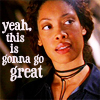 "damkianna: A cap of Zoe from Firefly, with accompanying text: ""Yeah, this is gonna go great."" (This is gonna go great.)"