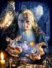 myrddin_emrys: Merlin manipulating the  planets (wizard)