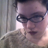 drownbynumbers: Lousy webcam portrait of the author, ([self] shameless narcissism)